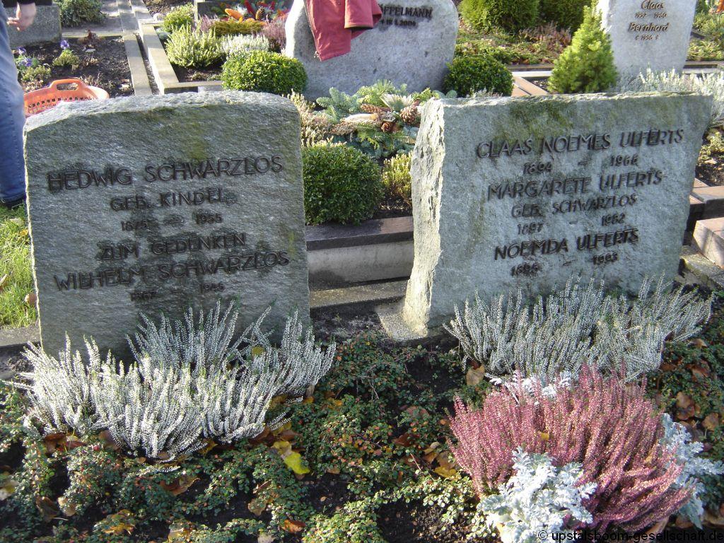 Grab Von Margarete Ulferts Geb Schwarzlos 1897 1982